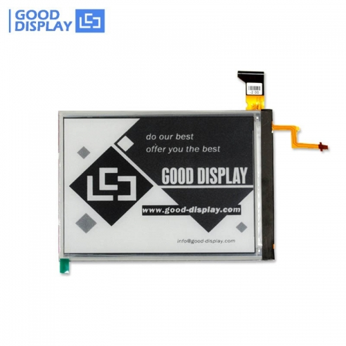 6 inch Large E paper with frontlight e-ink screen module GDE060BAFL