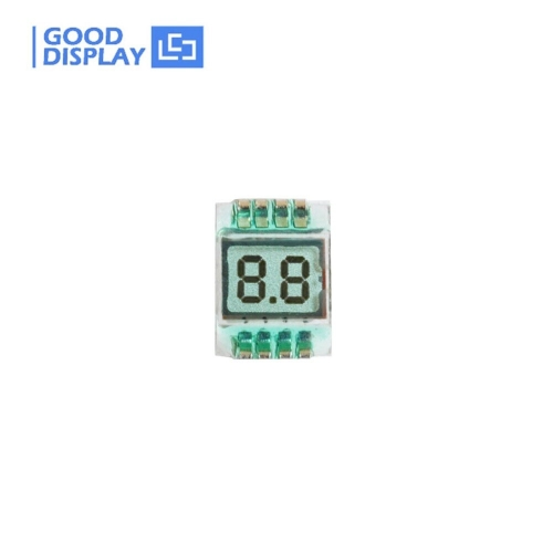 10 pieces, 2 Digit small mini TN Positive LCD glass Panel GDC02693