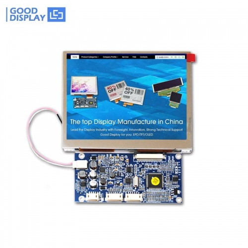 Super high brightness outdoor 5.6 inch TFT LCD Monitor Display Module