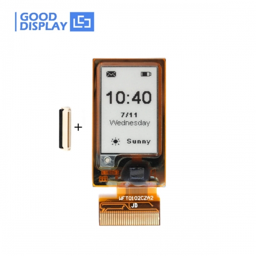 1.02 inch Mini flexible e-ink display small epaper screen module buy GDEW0102I3F