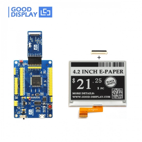 4.2 inch epaper display e-ink screen module 4 Grayscale with USB port Programmable Demo Kit