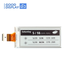 2.9 inch Black and white partial refresh e-paper display module GDEM029E97