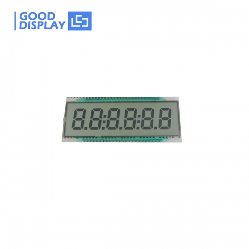 Wide temperature 6 Digit LCD Panel, EDS810