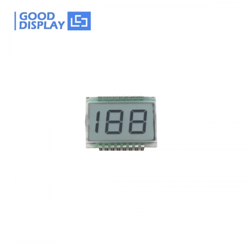 10 pieces, 2 1/2 Digit LCD Panel EDS819, wide temperature
