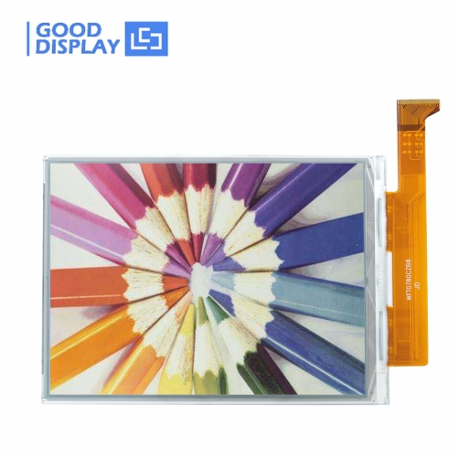 7.8 inch DES full color e-paper display parallel interface, extended operating temperature, GDEW078C01