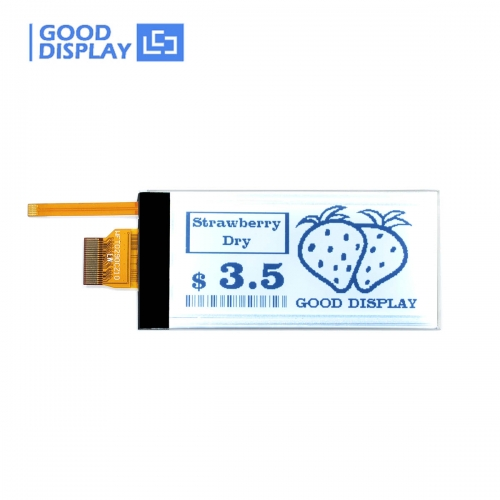 2.9 inch e-paper display with frontlight backlit partial refresh E-ink GDEW029T5D-FL02